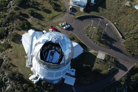 Aerial View of Hobby-Eberly Telescope